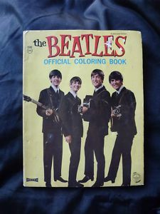 "View Item: BEATLES ""Official Coloring Book"" NEMS 1964 SAALFIELD"