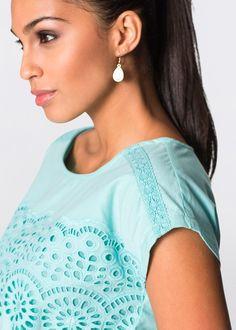 Flirt, Boutique, Pearl Earrings, Pearls, Jewelry, Fashion, Gauze Dress, Flowers, Black
