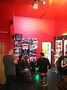 Backstageaction mit Eskimo Callboy :P Concert, Concerts