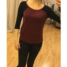 H&M Jersey Tee Worn one time, in excellent condition with no flaws. H&M Tops Tees - Long Sleeve