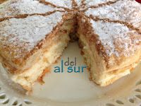 Alsurdelsur: Tarta Inglesa Cake Cookies, Cupcake Cakes, Sweet Recipes, Cake Recipes, Spanish Desserts, Delicious Desserts, Yummy Food, Sweet Tarts, Yummy Cakes