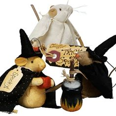 Halloween Collectible Mice   Decor Steals