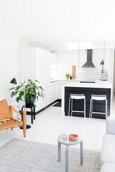 White kitchen Kitchen, Cooking, Kitchens, Cuisine, Cucina