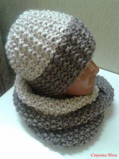 Зимний комплект (шапочка и снуд) Crochet Baby Hat Patterns, Crochet Pillow Pattern, Crochet Baby Hats, Knitted Hats, Knitting Patterns, Headband Pattern, Beanie Pattern, Knitting For Kids, Baby Knitting