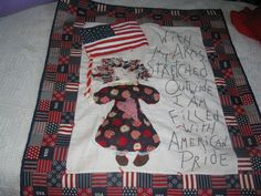WALL HANGING, OR LAP QUILT, .  HAND MADE
