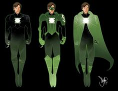 Interesting take on Green Lanterns costume. I appreciate any thing that helps to get the horrible movie version out of my head.