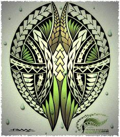 PolynesianStyleTattoo.com Custom Polynesian Style Tattoo Designs.