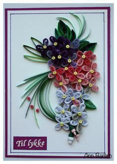Card / Quilling / 3mm paper strips