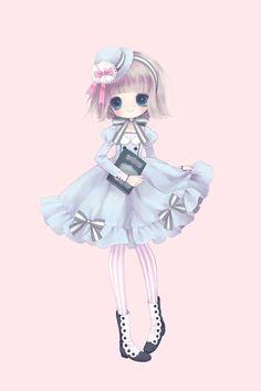 Kết quả hình ảnh cho cute chibi anime girl