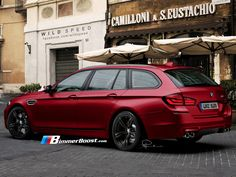 BMW M5 Touring F11 rendered
