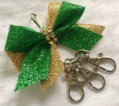 Cheer bow holder for backpack  cheer gift