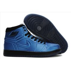 Air Jordan 1 Anodized University Blue Black White 414823-401