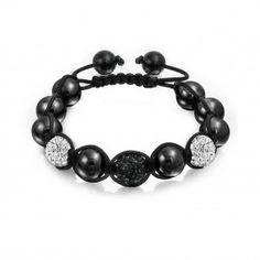 New Years Bracelet Bling Jewelry, Sterling Silver Jewelry, Fashion Jewelry, Beaded Bracelets, Black And White, Shopping, Trendy Fashion Jewelry, Black N White, Pearl Bracelets