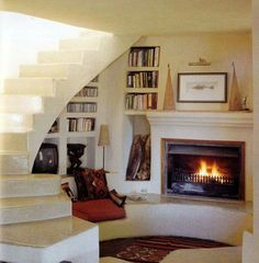 Such a lovely reading space.