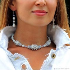 Jewelry Metals: Stone and Gems: Discount Jewelry: Cleaning and other tips: Jewelry Collection: Diy Jewelry Necklace, Necklace Types, Necklace Set, Beaded Jewelry, Handmade Jewelry, Beaded Necklace, Beaded Bracelets, Beaded Beads, Beads And Wire