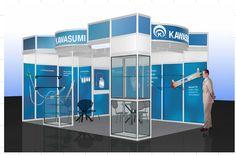 Tradeshow Booth Design for Kawasumi
