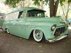 55 Chevy panal