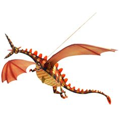 Creative kid's room decor: Totally love this set of 3 hanging paper dragons you put together.