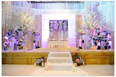 malay wedding decor. pelamin