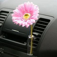 Auto Vase Pink Daisy from Car Decor Products. Shop more products from Car Decor Products on Wanelo. Maserati, Bugatti, Lamborghini, Hippie Auto, Hippie Car, Volkswagen New Beetle, Volkswagen Transporter, Beetle Bug, Cool Stuff