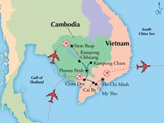 15 Day Mekong World-Class River Cruise with Siem Reap & Saigon,Asia tours, Thailand vacation - www.gate1travel.com