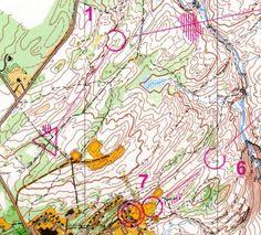 Sample Orienteering Map