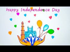 Happy Independence Day Poster/ Independence Day / lndependence Day Poster / Happy Independence Day - YouTube Independence Day Drawing, Independence Day Poster, Happy Independence Day, The Creator, Learning, Drawings, Creative, Youtube, Studying