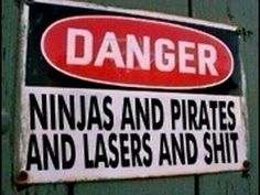 I shall put this sign on my gate when I have a house with a back yard. funny