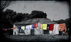 The Shack by Africa Dave, via Flickr Culture Day, South Africa, Contrast, Photo And Video, World, Painting, Painting Art, Paintings, The World