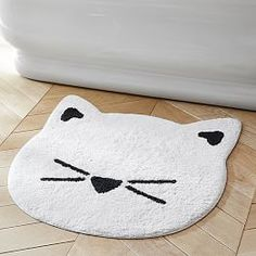 The Emily & Meritt Cat Bath Mat