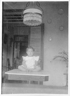 Wies van Waeterschoodt in Buitenzorg in the Dutch East Indies around 1925 | Flickr - Photo Sharing!