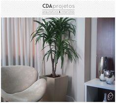 Sala em tons neutros | CDA projetos