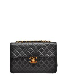 Chanel Vintage Quilted leather bag with logo  A Dreamer's Classic