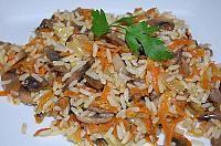 Budinca cu mere si orez - LaLena.ro Scallion Pancakes, Fried Rice, Grains, Ethnic Recipes, Food, Essen, Meals, Seeds, Nasi Goreng