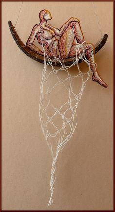 Lace with Coconut-shell - Ágnes Herczeg