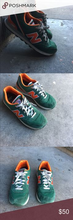 New balance shoes Good condition , still has a lot of life left in them . Size 10. Send offers ! New balance Irish edition ! New Balance Shoes Athletic Shoes