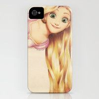 tangled iPhone Case by Colour Me Creative