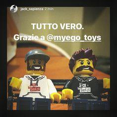 Anche Jack e lo Smilzo nella crew di MyEgo Toys! ✌️