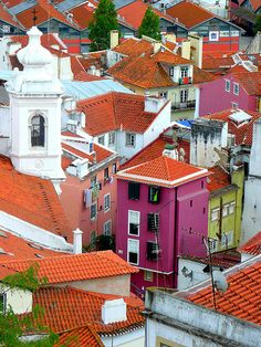 Lisbon, Portugal: amazingly beautiful, very romantic, thick with history! :)