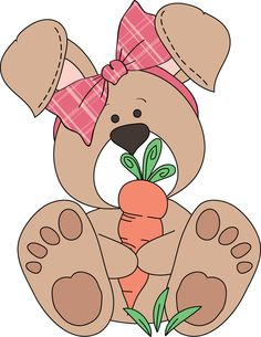 PURPLE BUNNY CLIP ART | CLIP ART - FOREST ANIMALS - CLIPART ...
