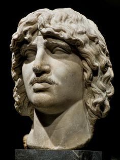 Heroic Head of a Barbarian (probably a Gaul) 2nd century CE Roman copy of 250-180 BCE Greek original reportedly from Trajan's Forum (3) | by mharrsch