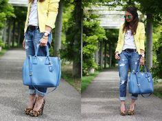 Prada Bag, Sheinside Blazer