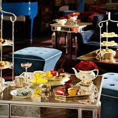The Langham Hotel in London.  What a beautiful afternoon tea! http://www.afternoonteaonline.com/uk/london/afternoon-tea-langham-hotel-palm-court/