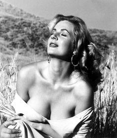 """sparklejamesysparkle: """"Anita Ekberg par André de Dienes, 1954."""""""