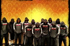 Miami Heat Pay Tribute to Trayvon Martin. Quite a powerful image huh?
