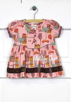 e436d7603105 A visual archive of Matilda Jane Clothing  Bon Vivant Peasant Top (RV  Secret Fields 2014
