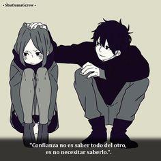 Confianza.. #ShuOumaGcrow #Anime #Frases_anime #frases