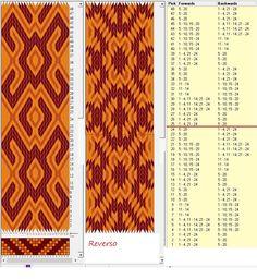 24 tarjetas hexagonales, 3 colores, repite cada 24 movimientos // sed_1081_c6a diseñado en GTT༺❁