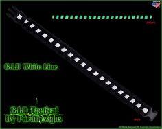 "G I D White Line ""Full Glow"" Paracord Survival Bracelet Glows in The Dark | eBay"