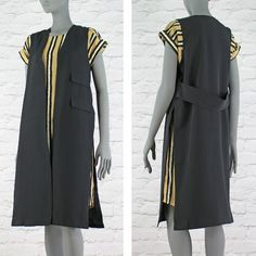 PinkCad Long Black Waistcoat With Pocket Detail And Side Splits Available Instore And Online www.pinkcadillac.co.uk Black Waistcoat, Ecommerce Solutions, Side Split, Pocket Detail, Long Black, Duster Coat, Jackets, How To Wear, Fashion Trends